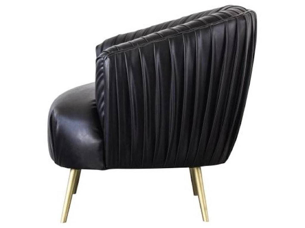 Happy Chair AnnaAnna Pleated Accent Chair