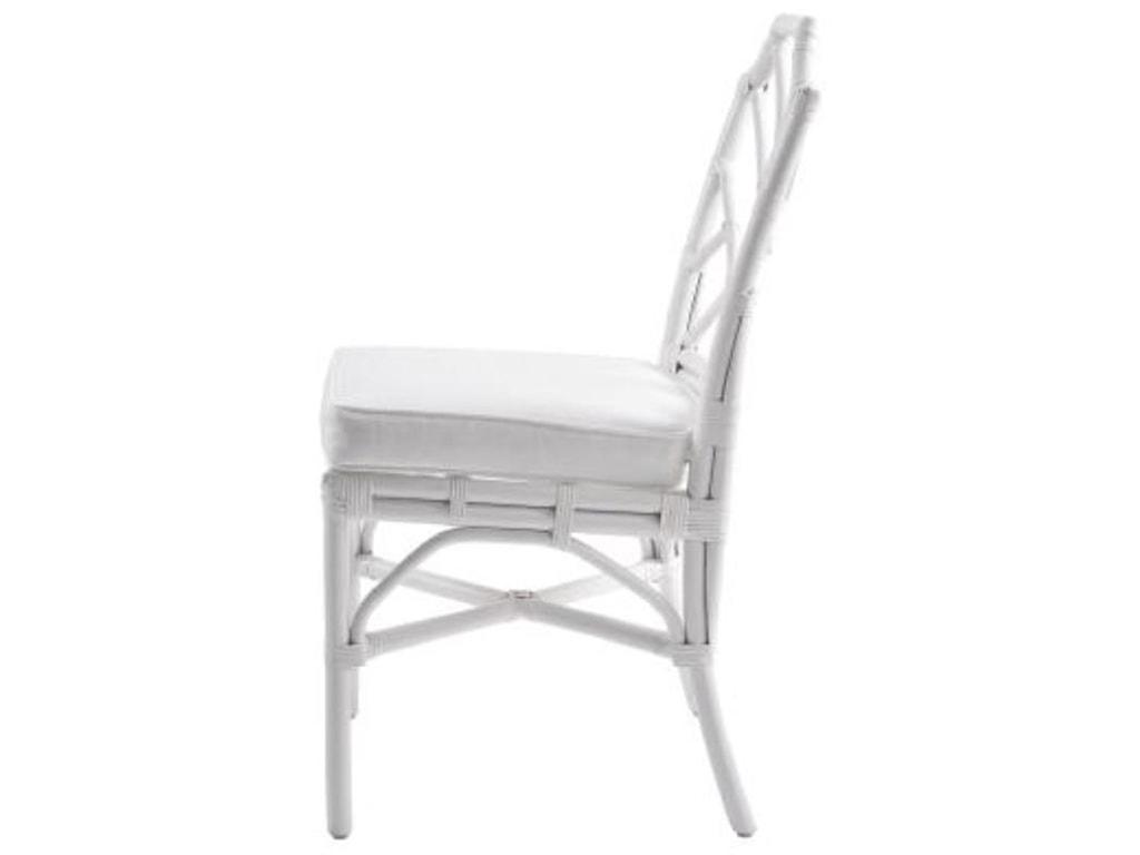 Happy Chair KaraKara Rattan Chair, White