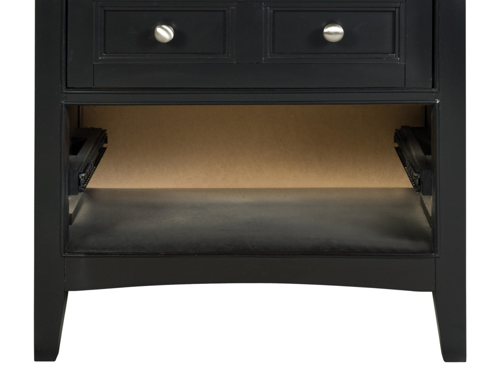 Next Generation by Magnussen Beck BlackDrawer Nightstand