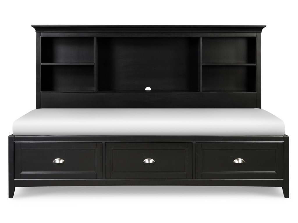 Next Generation by Magnussen Beck BlackFull Lounge Bed
