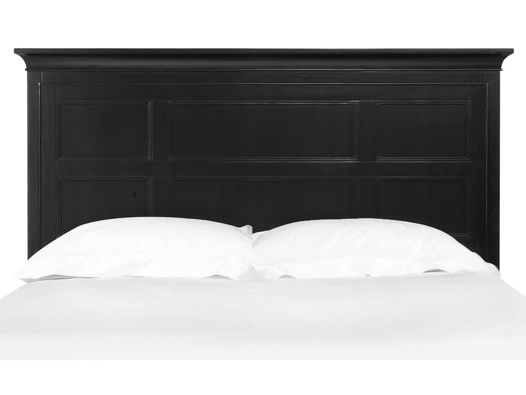 Next Generation by Magnussen Beck BlackFull Panel Headboard