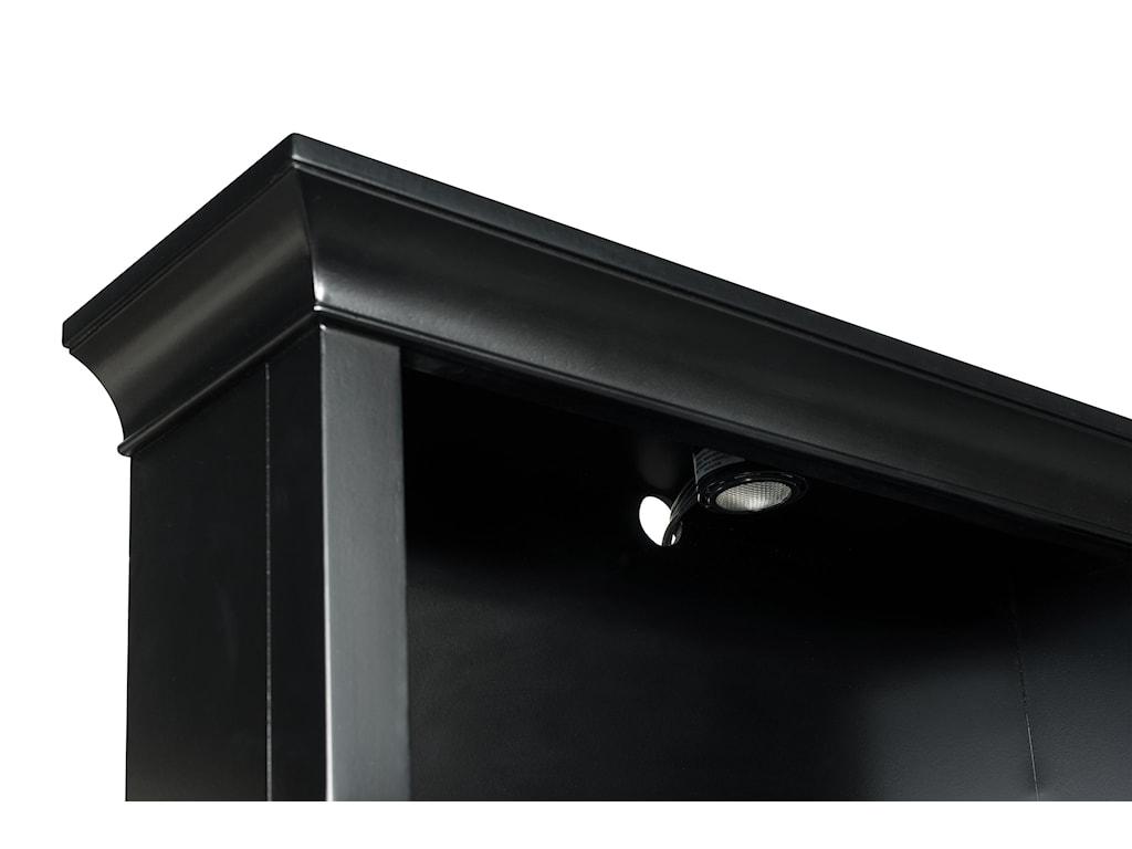 Next Generation by Magnussen Beck BlackFull Bookcase Headboard