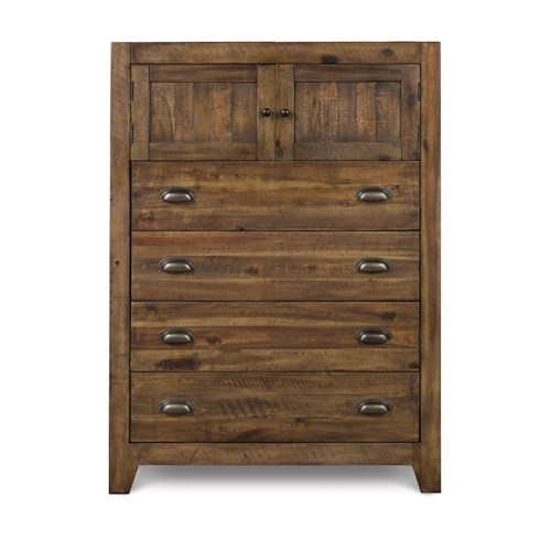 Next Generation by Magnussen 360 Caual Rustic Drawer Chest with Six Drawers