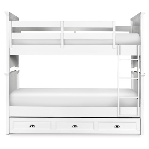 Next Generation by Magnussen Kenley Twin-over-Twin Bunk with Trundle Drawer