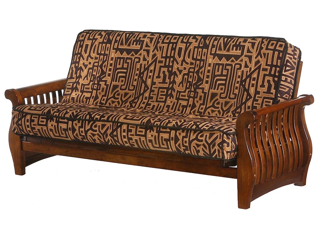 Night & Day Furniture NightfallBlack Walnut Full Size Futon