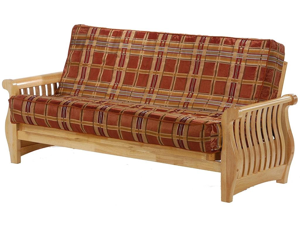 Night & Day Furniture NightfallNatural Queen Size Futon
