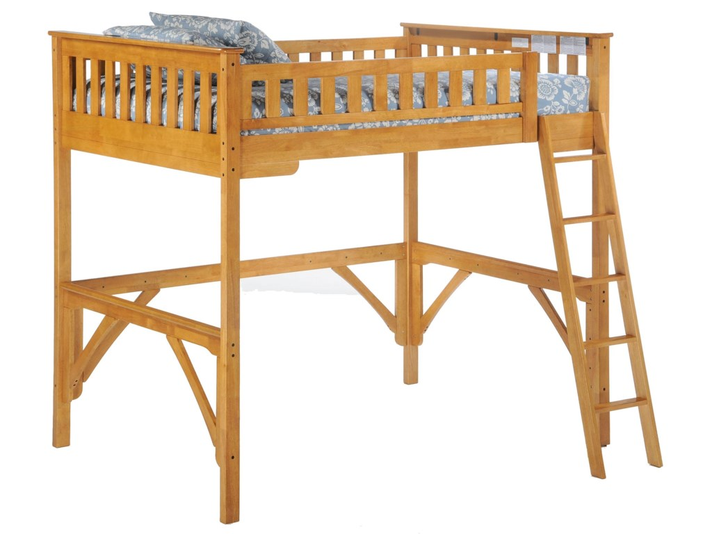 Night & Day Furniture SpiceTwin Loft Bed