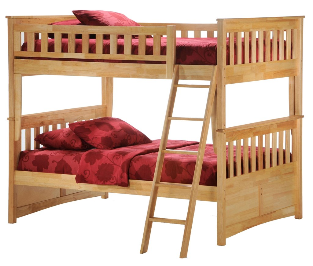 Night & Day Furniture Spice Ginger Full Bunk Bed Furniture and