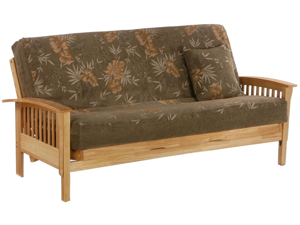 Night Day Furniture Winchester Natural Full Size Futon