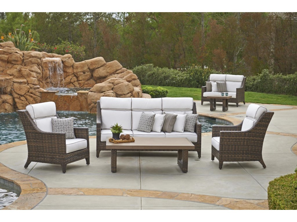 NorthCape International Avant3 Seater Sofa w/ Cushion