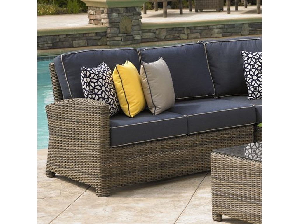 NorthCape International BainbridgeSectional Left Arm w/ Cushion