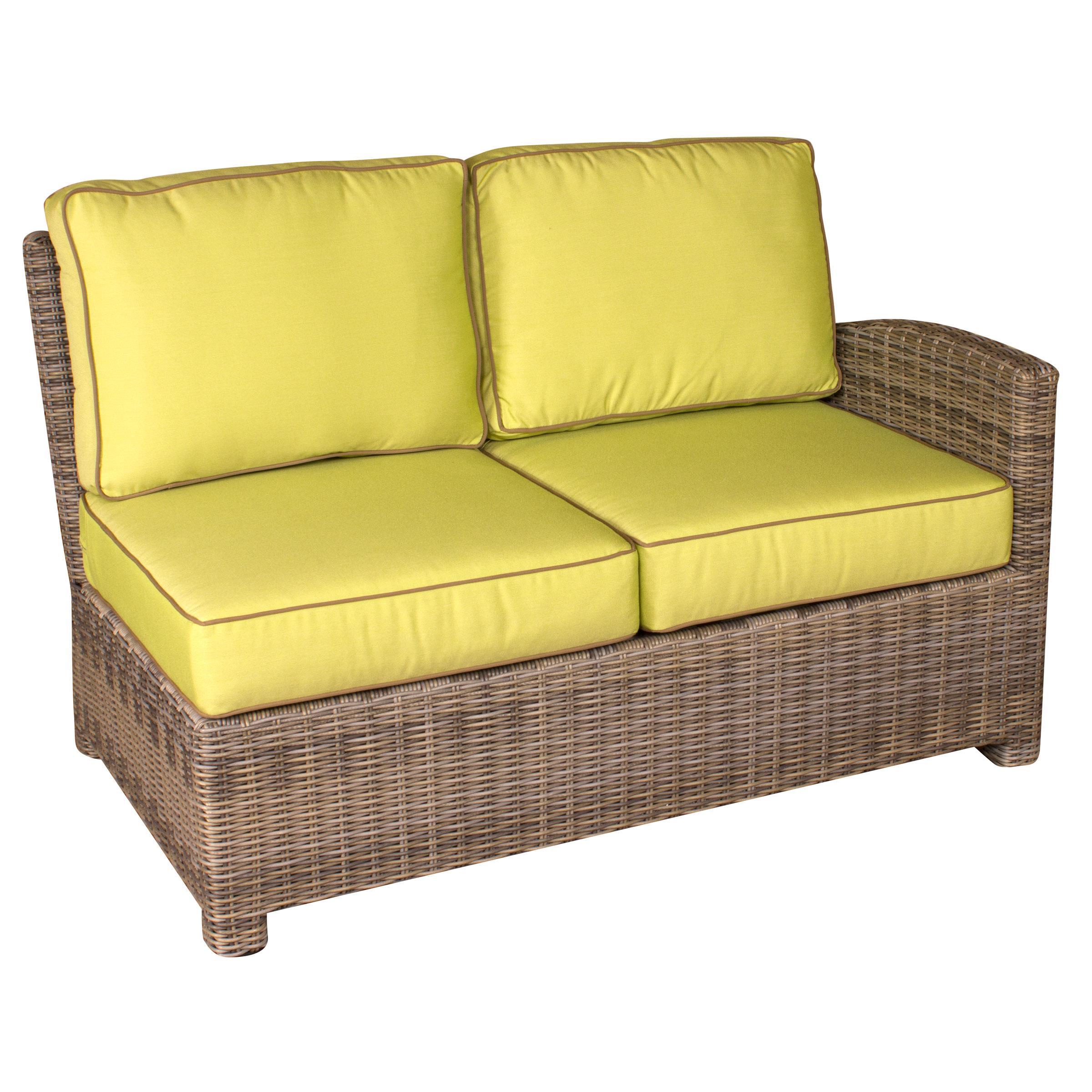 NorthCape International Bainbridge Sectional Right Arm W/ Cushion   Becker  Furniture World   Sectional Modular Piece