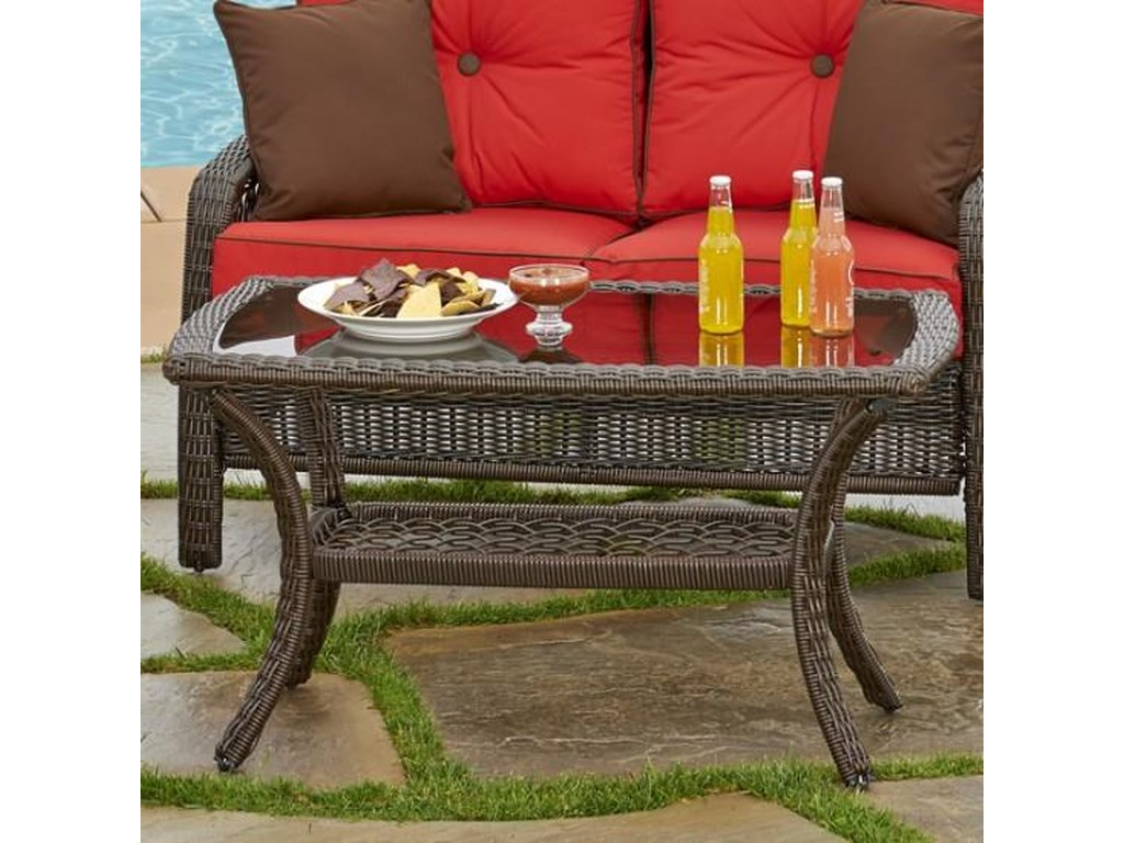 NorthCape International Beacon 889Outdoor Cocktail Table