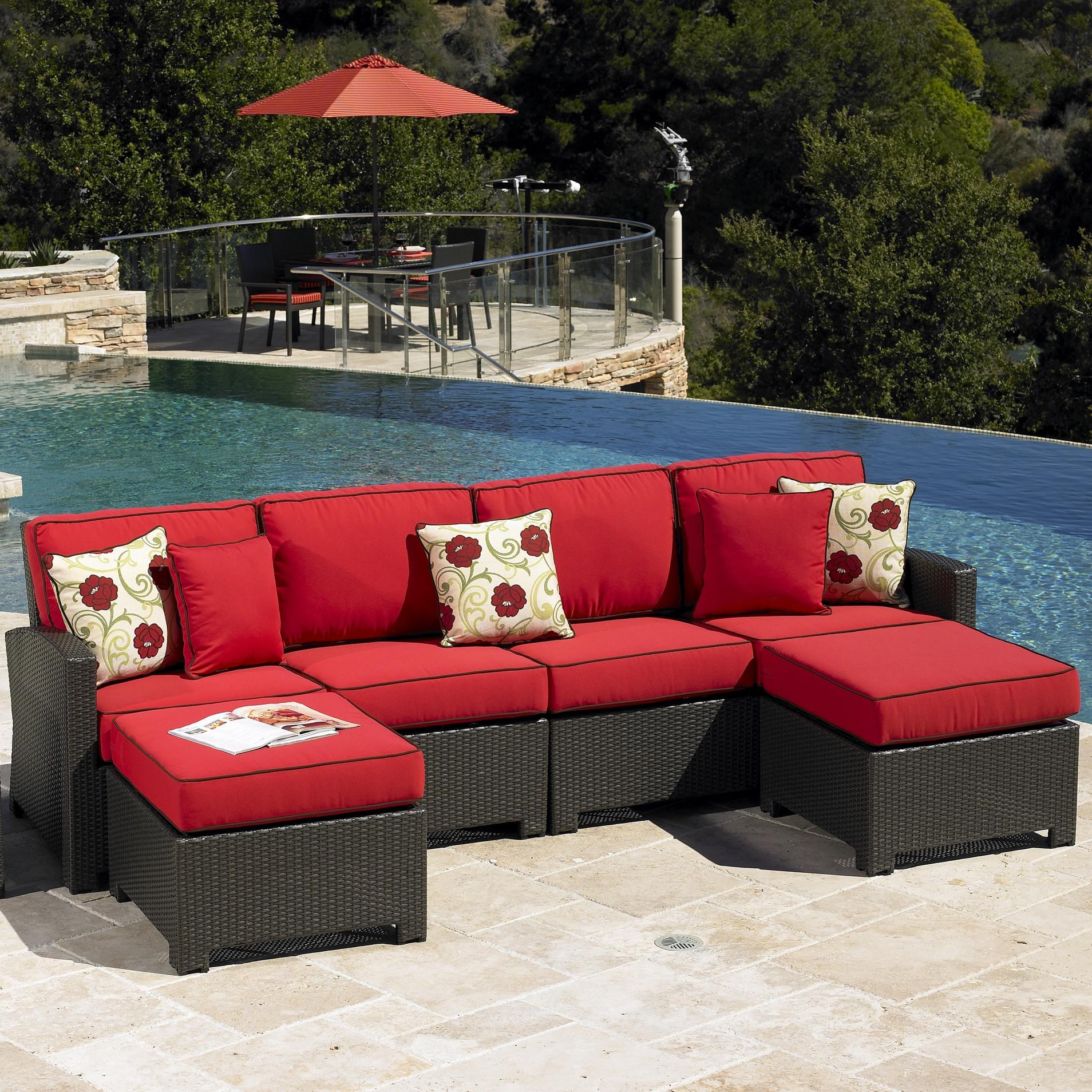 Beau Cabo Contemporary Outdoor Sectional By NorthCape International
