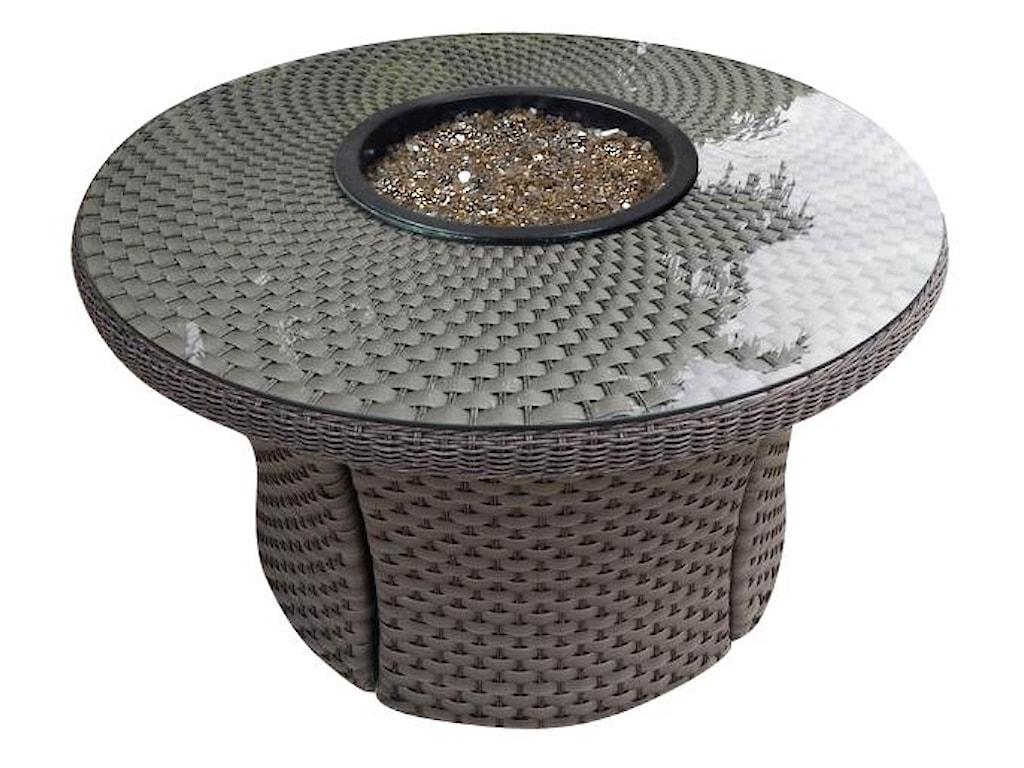 NorthCape International CaboStandard Weave Woven Fire Table