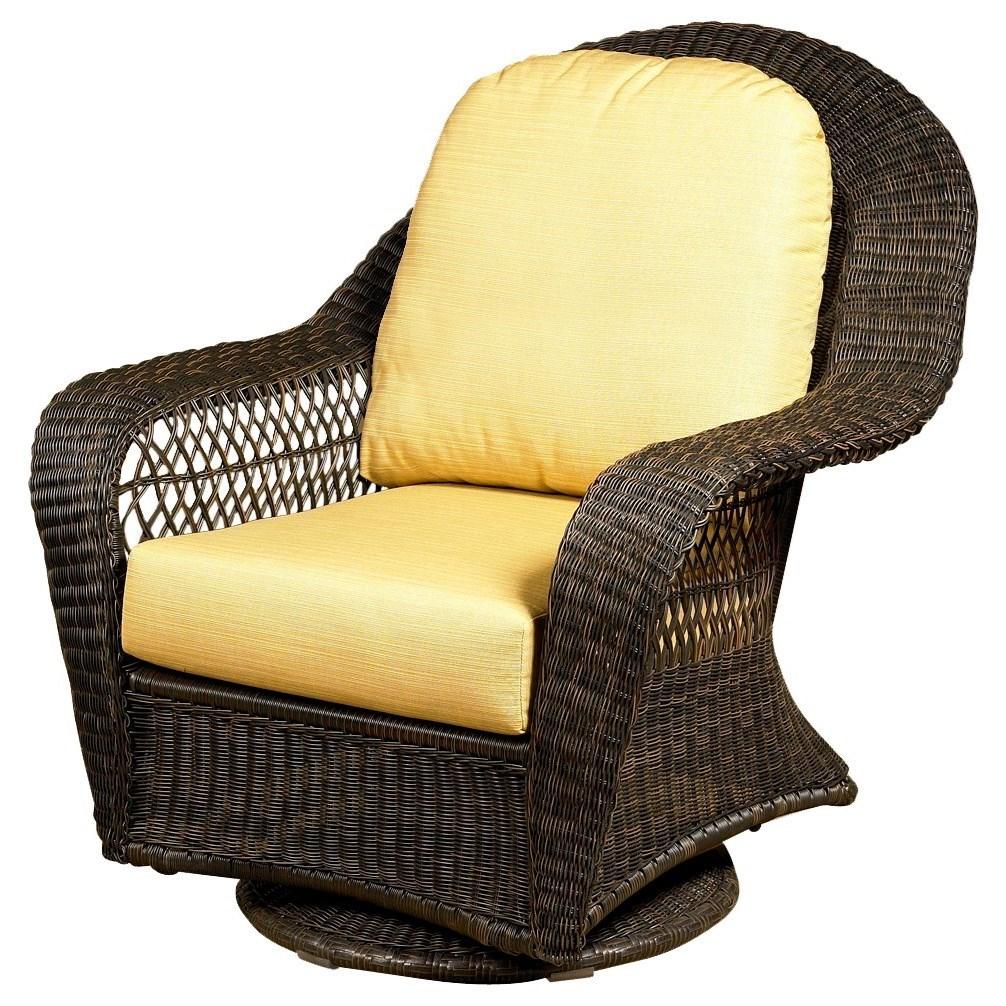 NorthCape International CharlestonHigh Back Swivel Glider Club Chair
