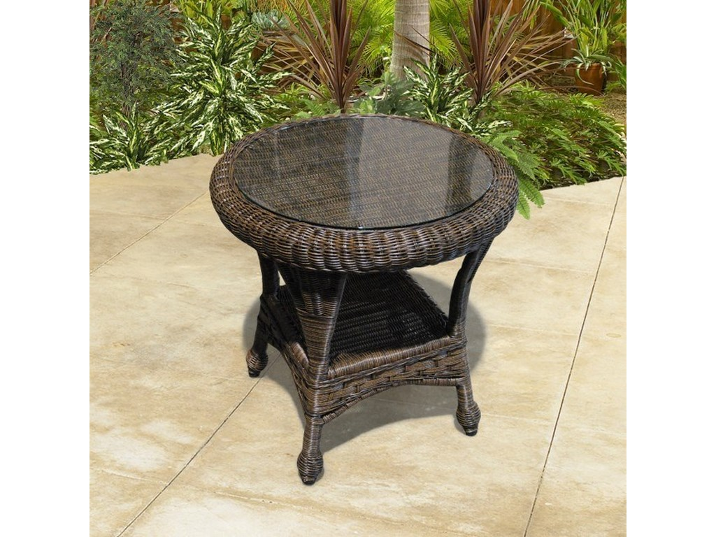 Northcape International Georgetown Ncoutdoor End Table