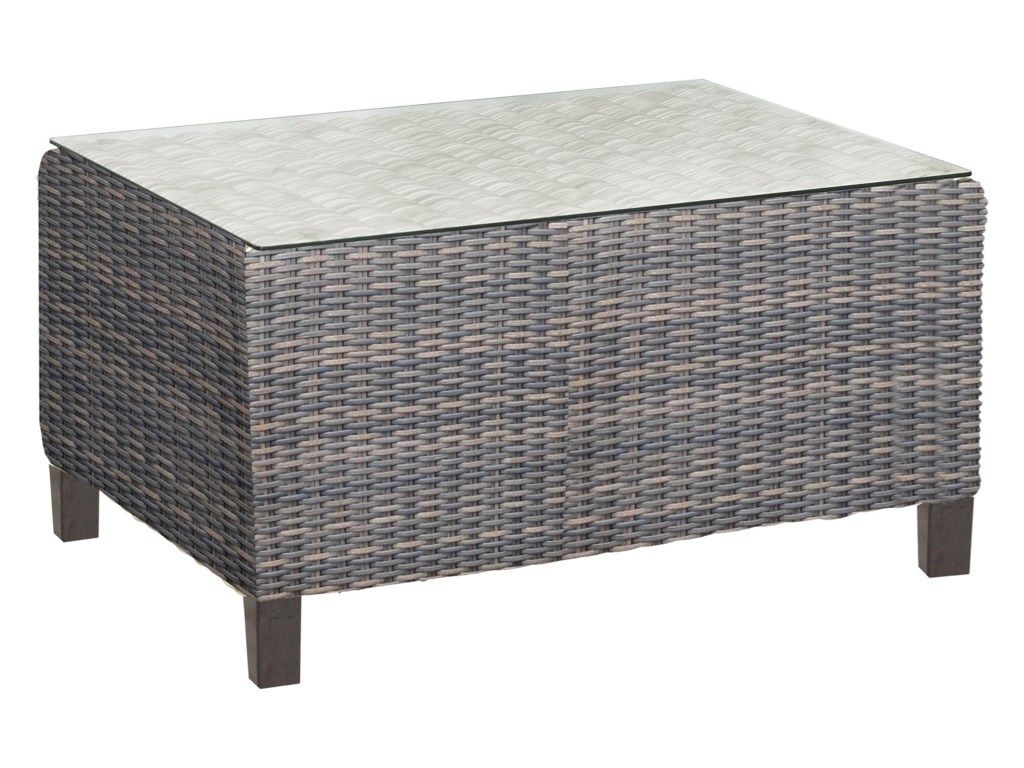Chicago Wicker San Marinooutdoor Coffee Table