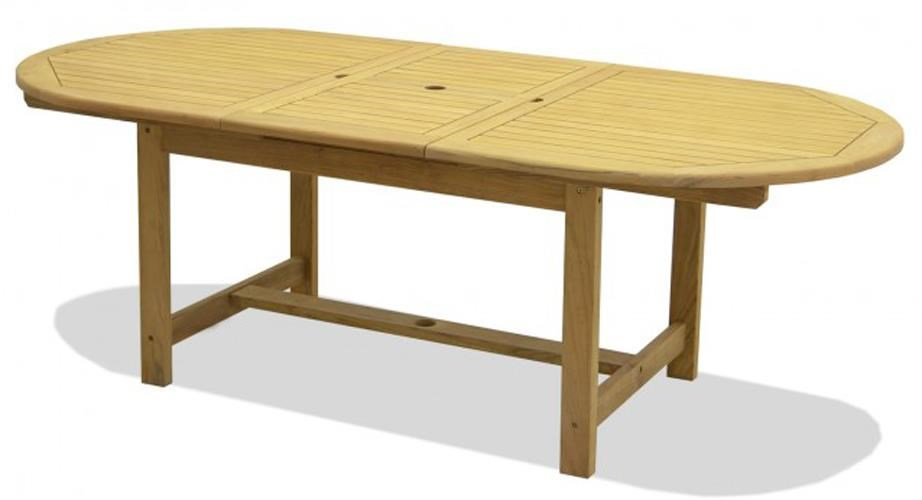 NorthCape International TeakJameson Extension Dining Table