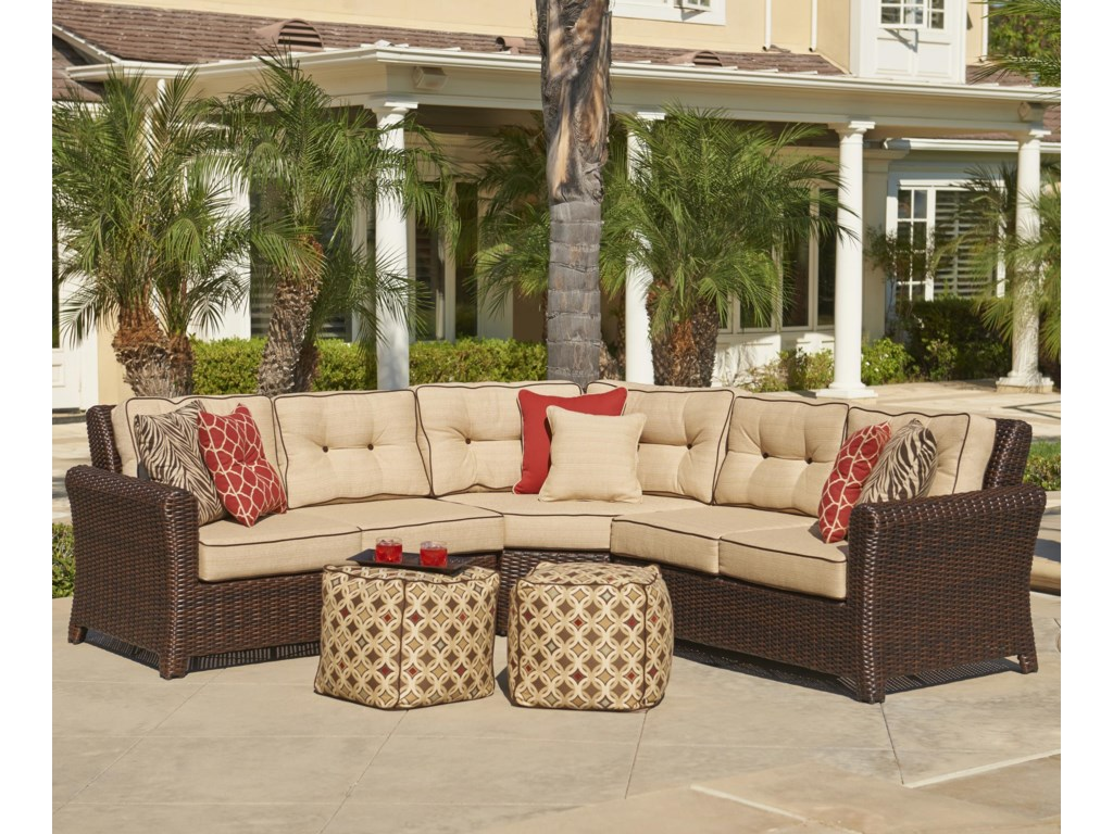Home Outdoor Sectional Sofa Groups Chicago Wicker Tisdale Corner Tisdalecorner