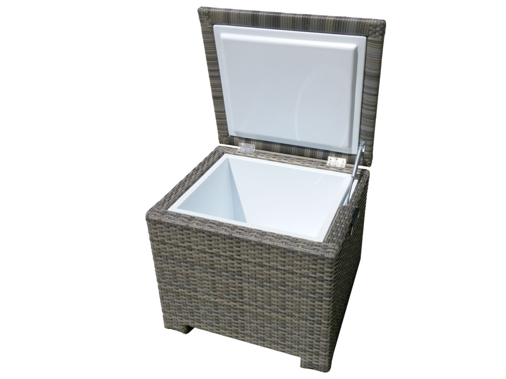 NorthCape International UniversalEnd Table With Built In Ice Chest
