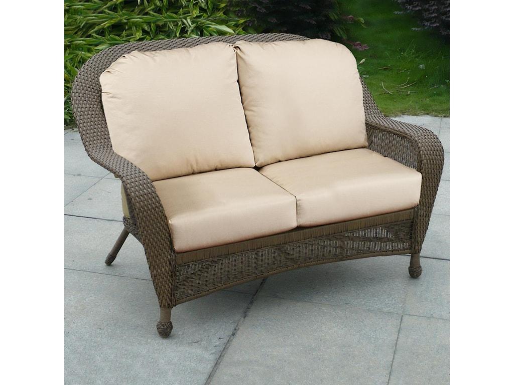 NorthCape International WinwardLoveseat w/ Cushion