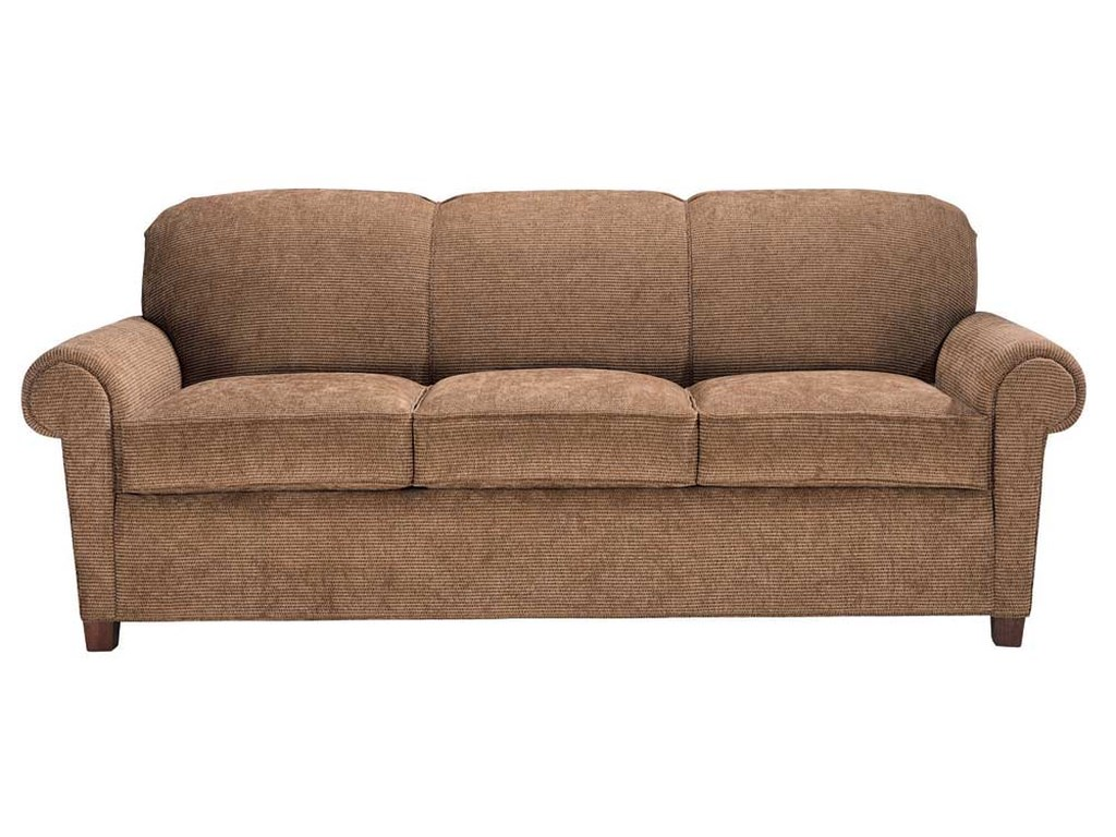 Portland 3 Seater Rolled Arm Sofa By Norwalk