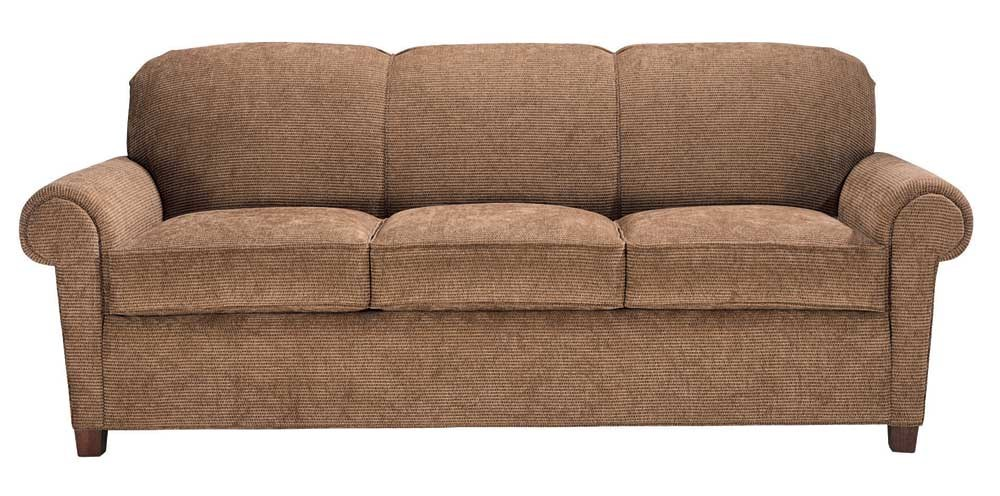 Charmant Portland 3 Seater Rolled Arm Sofa By Norwalk