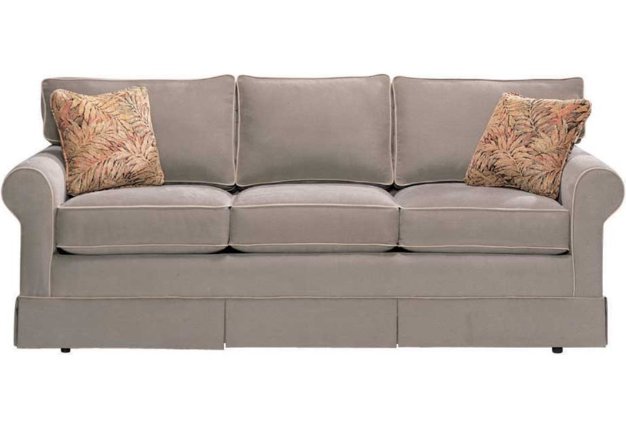 Norwalk Copley Square 9248 70 Customizable Loose Back Sofa