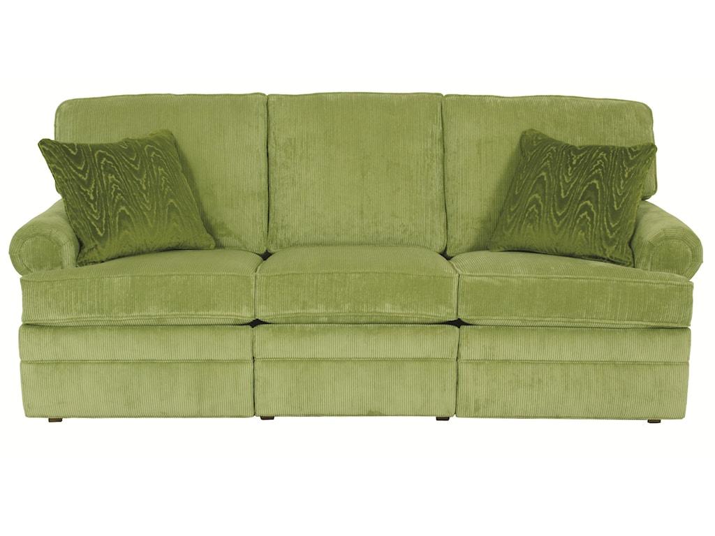 Austin Transitional Reclining Sofa By Norwalk