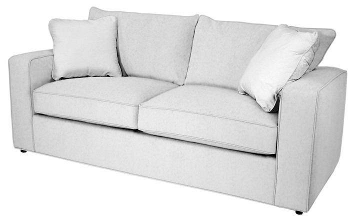 Norwalk Milford 9445 70 Contemporary 2 Seater Sofa With Track Arm