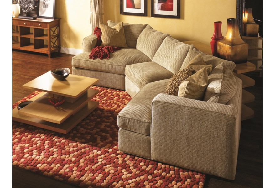 Norwalk Ord Sectional Sofa With 2