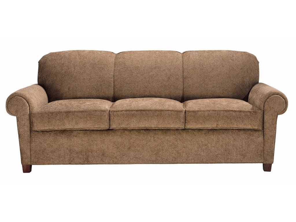 Portland Queen Sleeper Rolled Arm Sofa By Norwalk