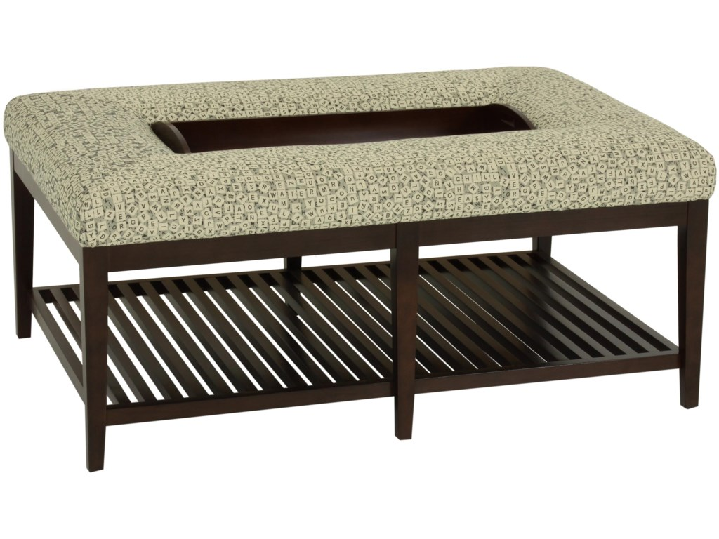 norwalk shelton 1010 95 contemporary ottoman bench with slatted base