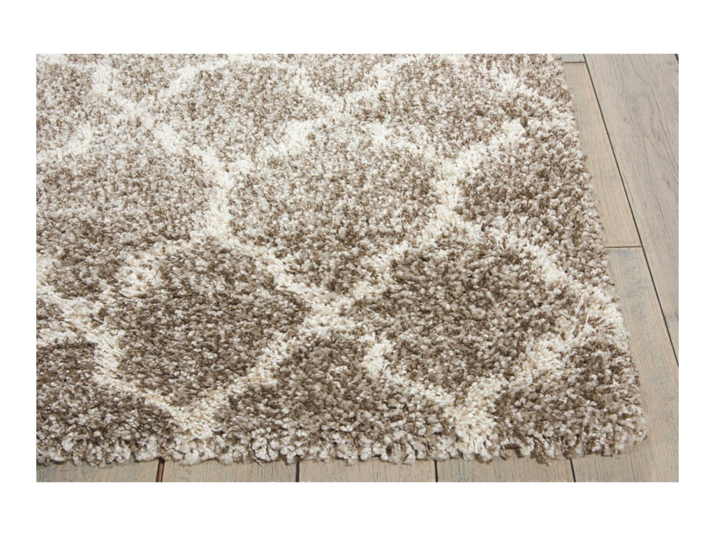 Nourison Amore10' x 13' Stone Rectangle Rug
