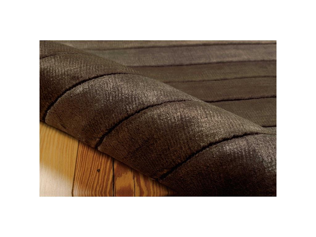 Nourison Aura8' x 11' Chocolate Rectangle Rug