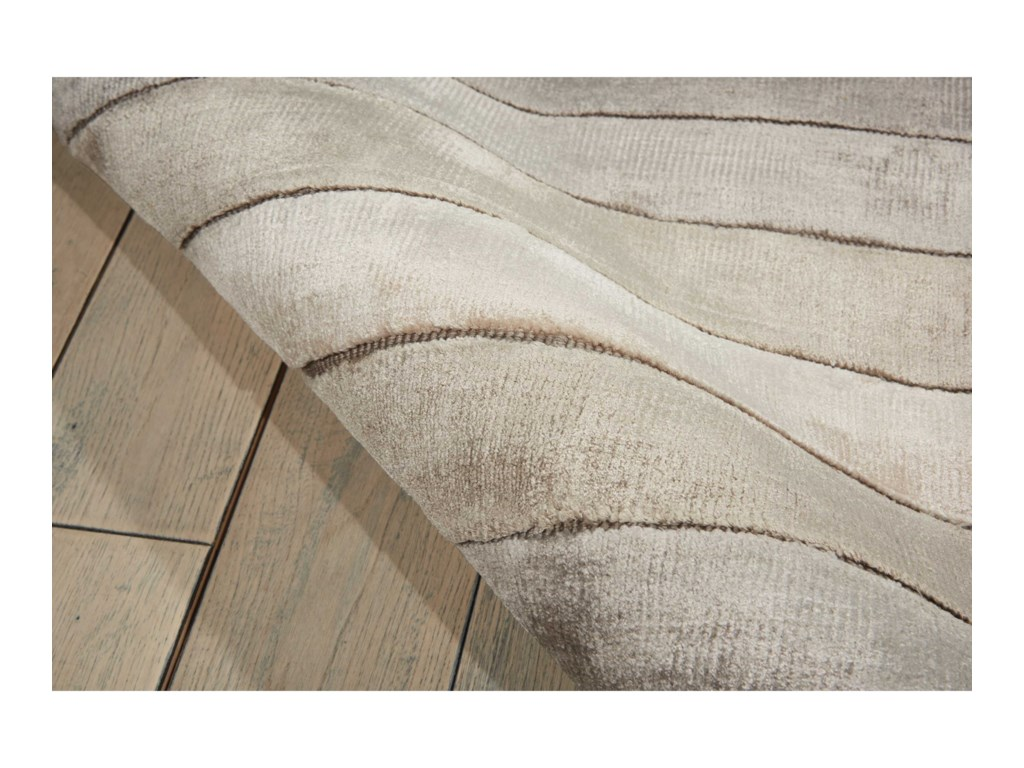 Nourison Aura8' x 11' Silver Shadow Rectangle Rug