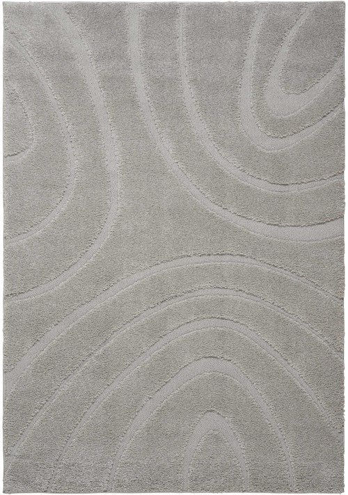 Nourison Austin 4' X 6' Silver Rectangle Rug