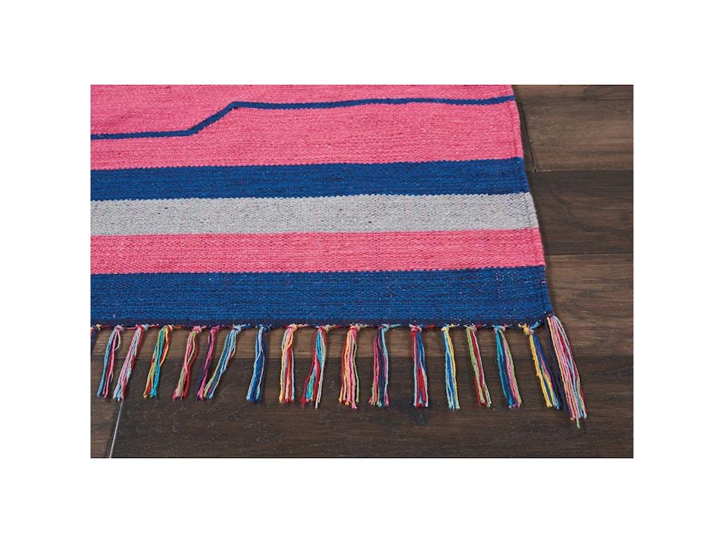 Nourison Baja8' X 10' Pink/Blue Rug