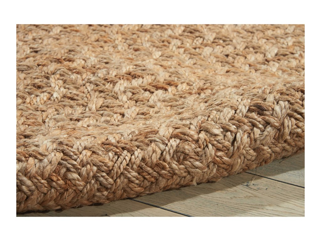 Nourison Basketweave5' x 7' Natural Rectangle Rug