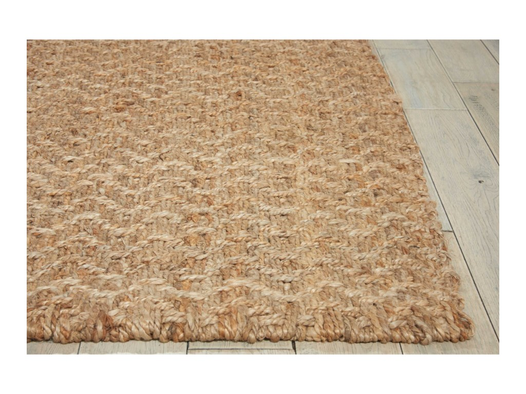 Nourison Basketweave8' x 10' Natural Rectangle Rug
