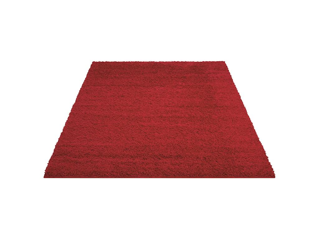Nourison Bonita5' x 7' Red Rectangle Rug