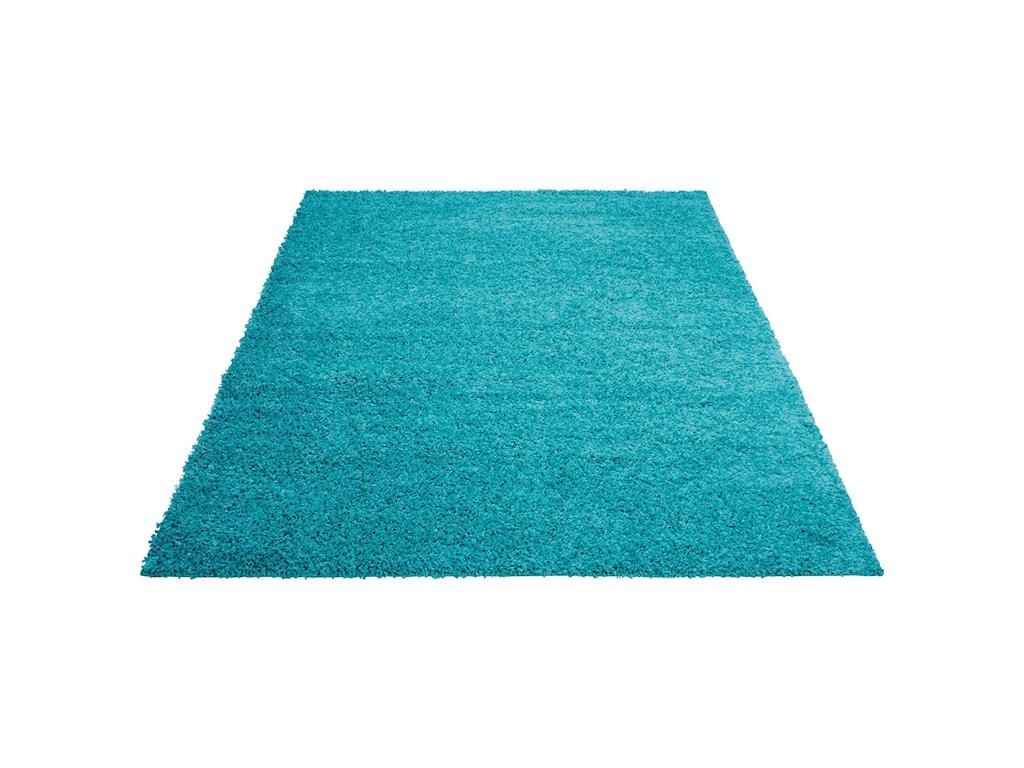 Nourison Bonita5' x 7' Turquoise Rectangle Rug
