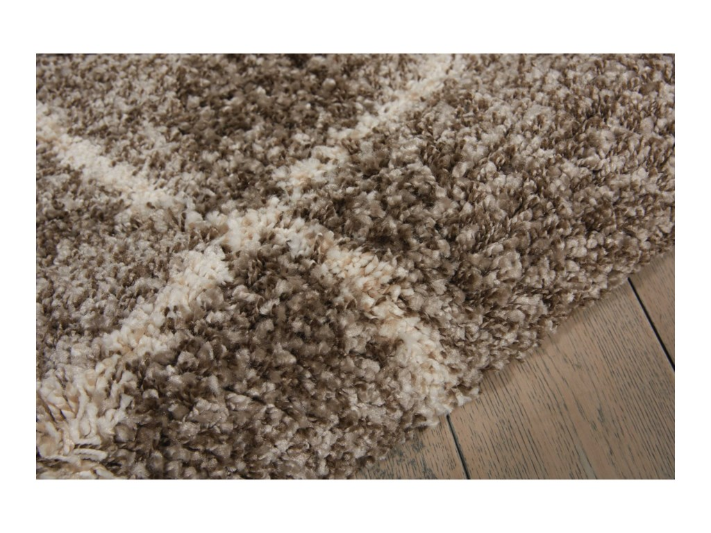 Nourison Brisbane5' x 7' Stone Rectangle Rug