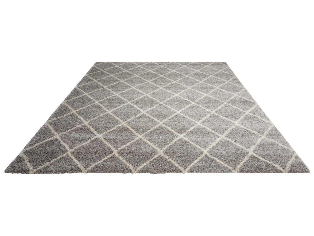 Nourison Brisbane5' x 7' Ash Rectangle Rug