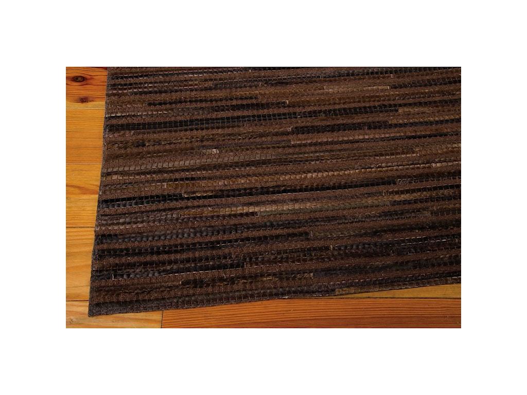 Nourison Capelle8' x 10' Espresso Rectangle Rug