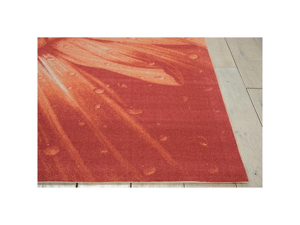 Nourison Coastal10' X 13' Red Rug