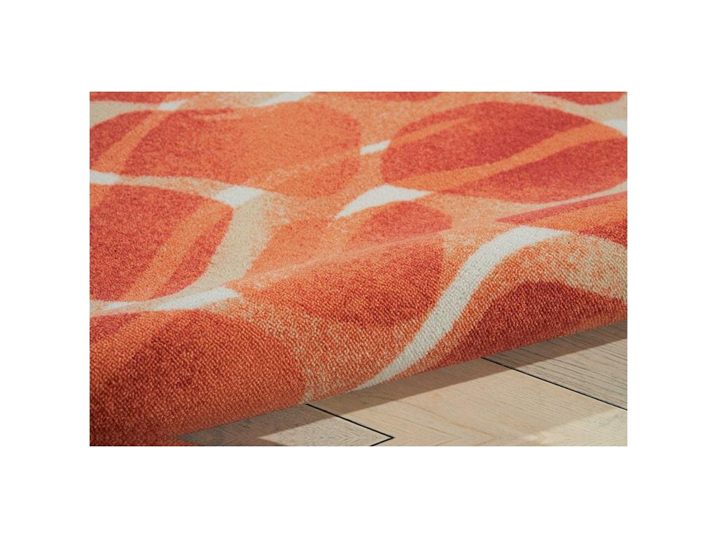 Nourison Coastal10' X 13' Orange Rug