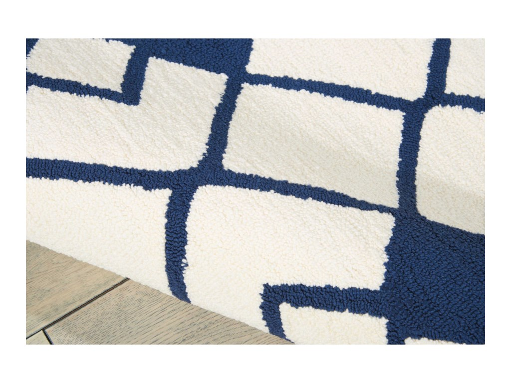 Nourison Decor18' X 10' Ivory/Navy Rug