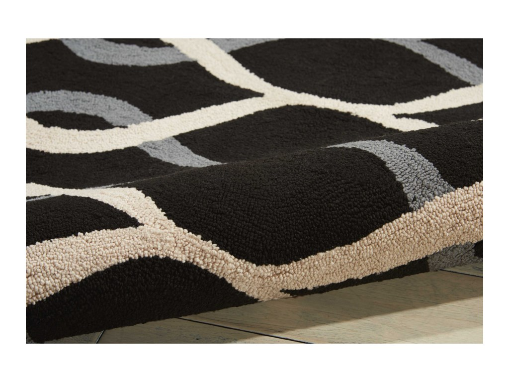 Nourison Decor15' X 7' Black Rug
